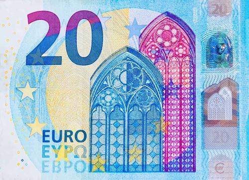 Euro Money Europe 20 bright